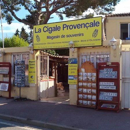 Hyères, France : Très beau magasin de souvenirs à hyeres