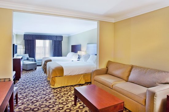 Holiday Inn Express Hotel & Suites Macon West: Guest room