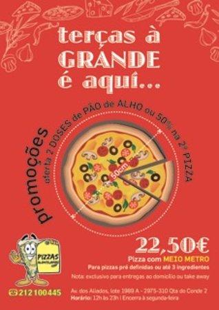 Quinta Do Conde, Portogallo: Pizzas Alentejanas