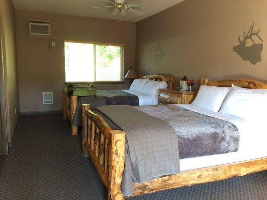Lowman, Айдахо: Clean room.