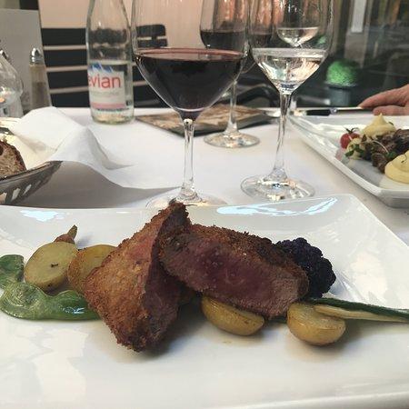 Ristorante Grand Café Al Porto: Delicious lunch menus or a la carte treats in the roof patio on the first floor