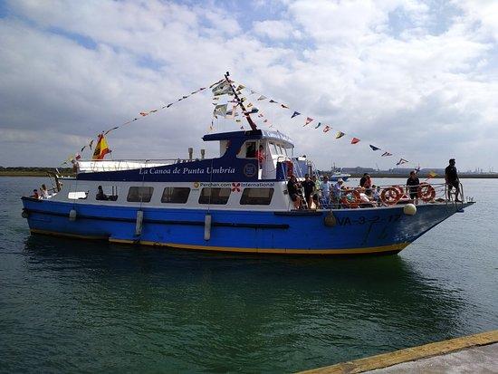 Canoa a Punta Umbria