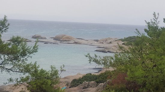 Excellent rocks for snorkelling around, calm water