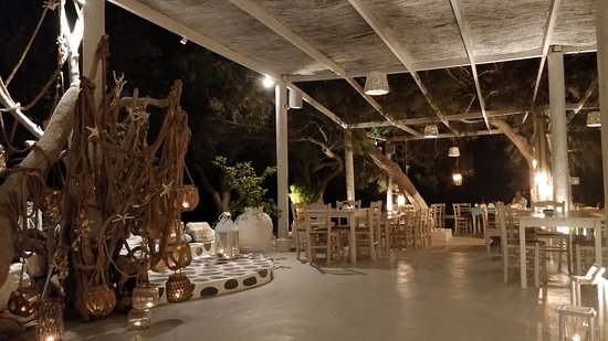 Best beach restaurant in Ios