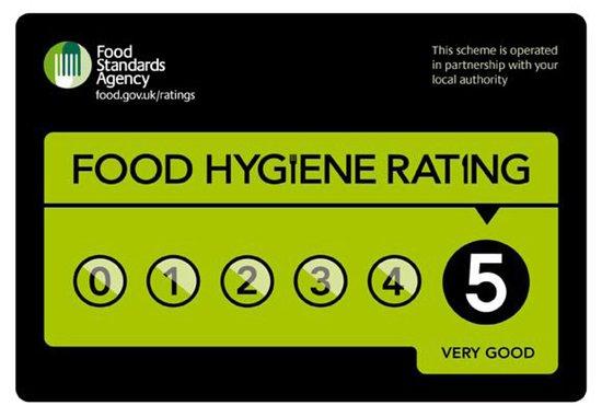 Roseview Hotel: Food Hygien Rating