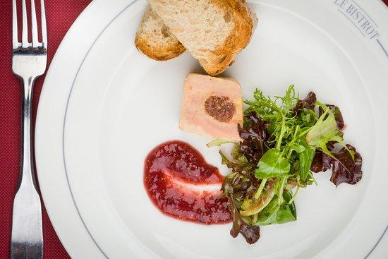 Le Bistrot Le Lion d'or : Foie gras de canard de Benjamin aux figues