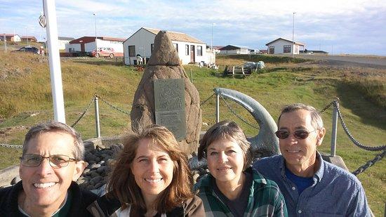 Drangsnes, Iceland: Troll rock in Drangenes
