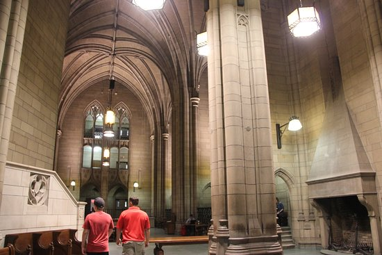 Cathedral of Learning: inside
