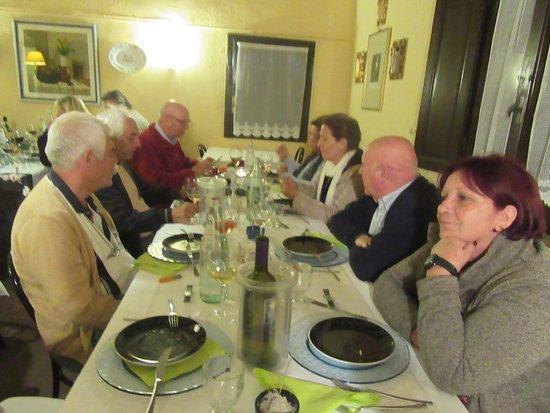 Agriturismo Aglioni: Diner in Aglioni