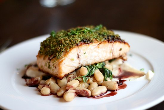 Canyon River Grill: Salmon is always a winner here.