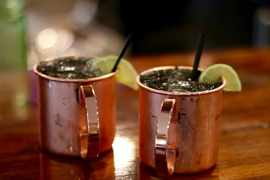 Canyon River Grill: Mule anyone?