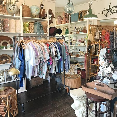 Patchogue, NY: Vintage clothing, home decor, housewares and furniture.