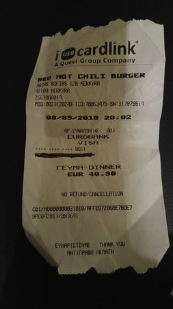 Red Hot Chili Burger Picture