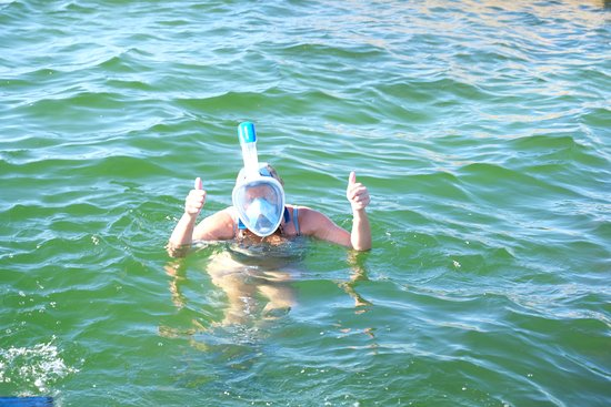 Allens Aquatic Adventures Thumbs Up For Snorkeling