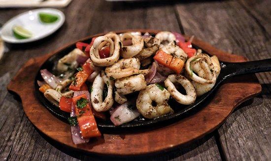 El Gran Inka: sea food