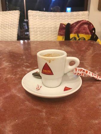 Restaurante Mediterráneo: The best expresso