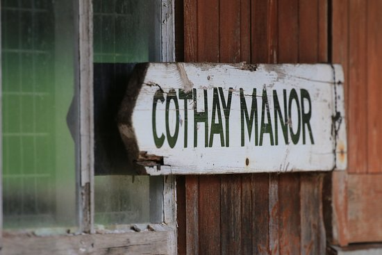 Greenham, UK: Cothay Manor entrance