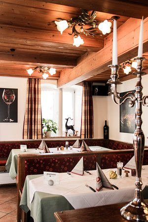 Marktoberdorf, Alemanha: Restaurant Bereich
