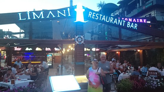 Limani Restaurant Alanya: Pysznie i średnio cenowo