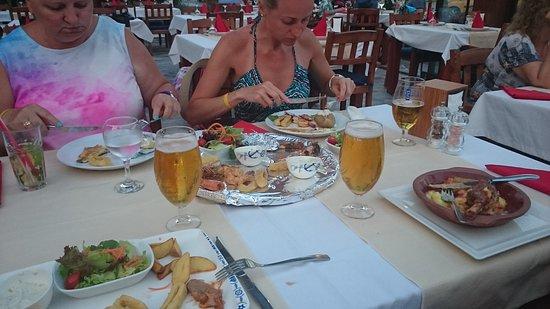 """Limani Restaurant Alanya: Można się najeść już przystawkami """"i poczekajkami"""":))"""