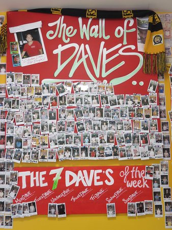 "Port Bbq Chickens & Dave's Takeaway: Part of ""The Wall of Daves"""