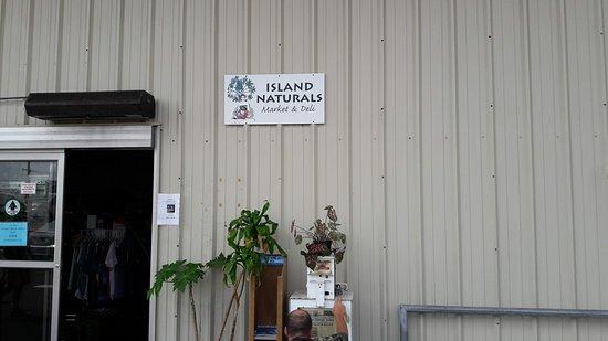 Island Naturals Market and Deli Kailua Kona: Entrance