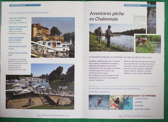 Fontaines, Francia: La brochure : Le territoire du Chalonnais