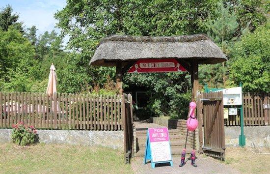 Hitzacker, Germany: Eingang der Pension Tante Storch