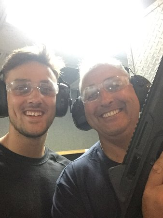 Oak Ridge Gun Range: Boys day