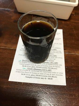 Lafayette, NJ: Erick's Hammer Sample beer