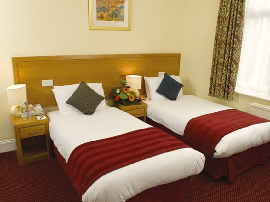 Crowthorne, UK: Guest room