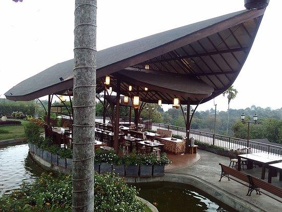 Seating Area Picture Of Bumi Sampireun Ciawi Tripadvisor