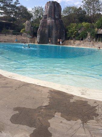 Guembe: Área das piscinas.