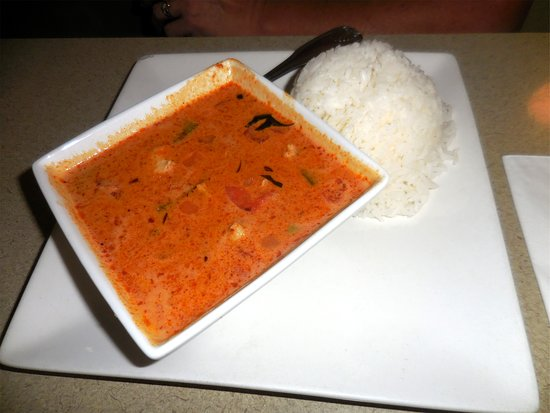 Noodle N Thai: Panang Curry Lunch