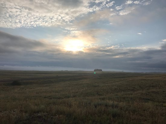 Buford, WY: Views from and of Ames Monument