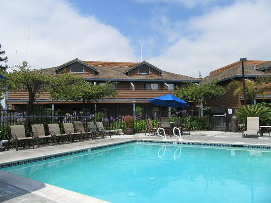 Best Western Seacliff Inn: Pool area; some rooms have easy access.