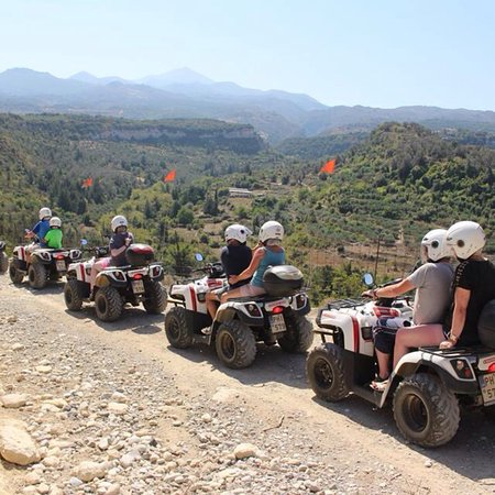 Bali, Grèce : Nostos Safari-Mountain Safari with Quad Motorbikes