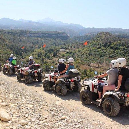Bali, اليونان: Nostos Safari-Mountain Safari with Quad Motorbikes