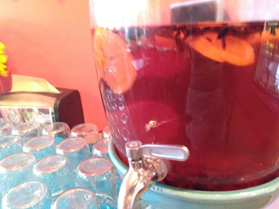 Hibiscus Lemon Infused Water Picture Of Sweet Potato Kitchen And