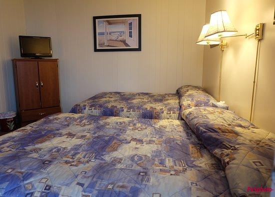 Motel du Haut Phare: Inside of the room
