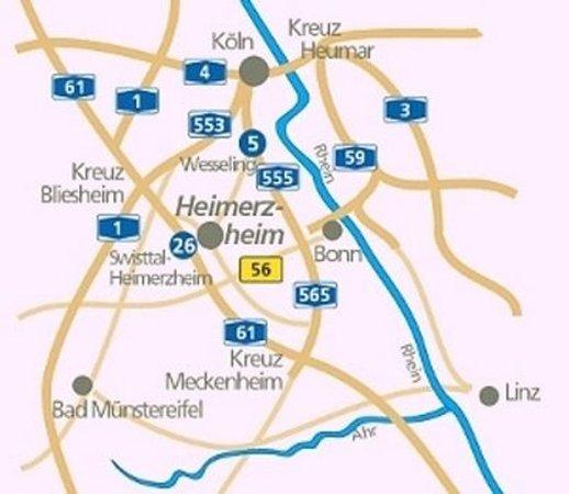 Swisttal, Deutschland: Map