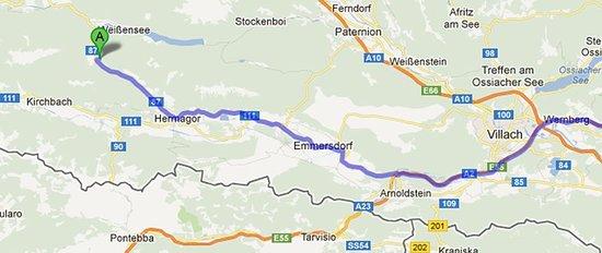 Weissbriach, Austria: Map