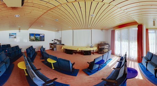 Fieschertal, Switzerland: Meeting room