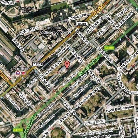 Chrysos Hotel: Map