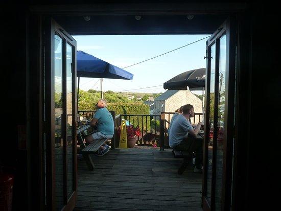 St. Breward, UK: Sit outside
