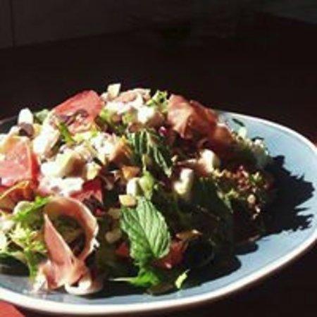 Moergestel, Nederland: Heerlijke salade's bj La Moer