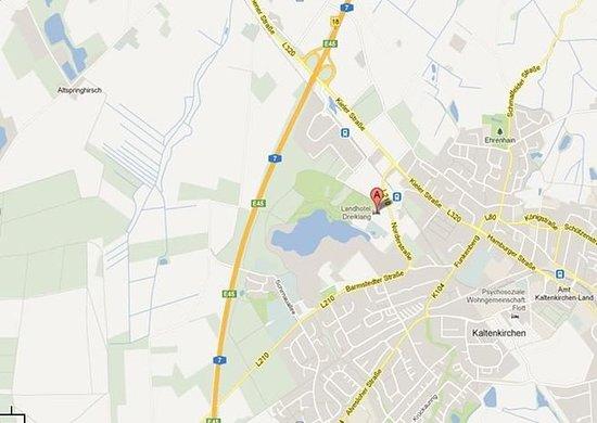 Kaltenkirchen, Duitsland: Map