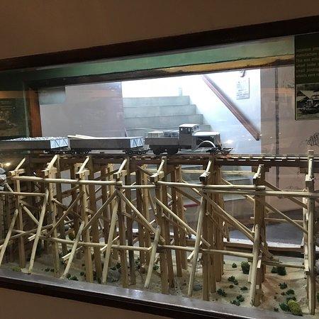 橋だけではなく博物館も是非寄ってください