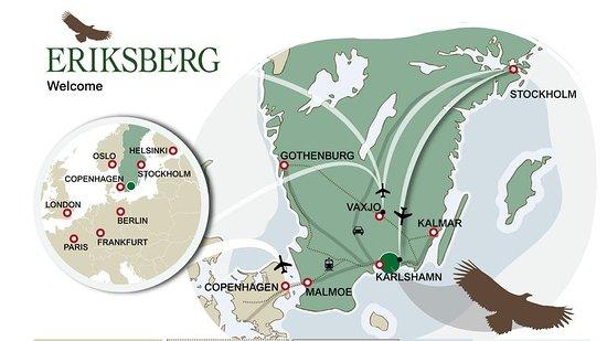 Trensum, Sverige: Map