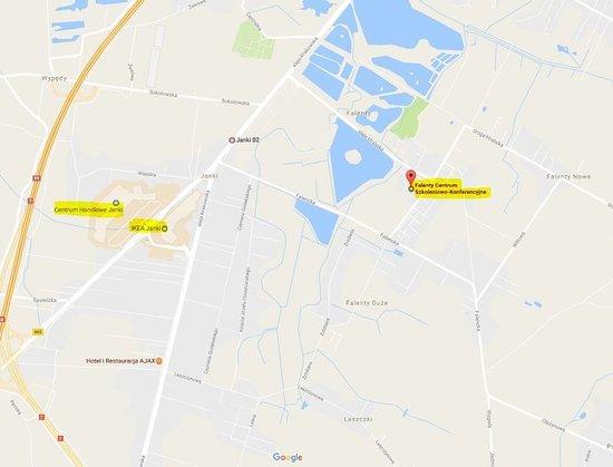 Raszyn, Polonia: Map